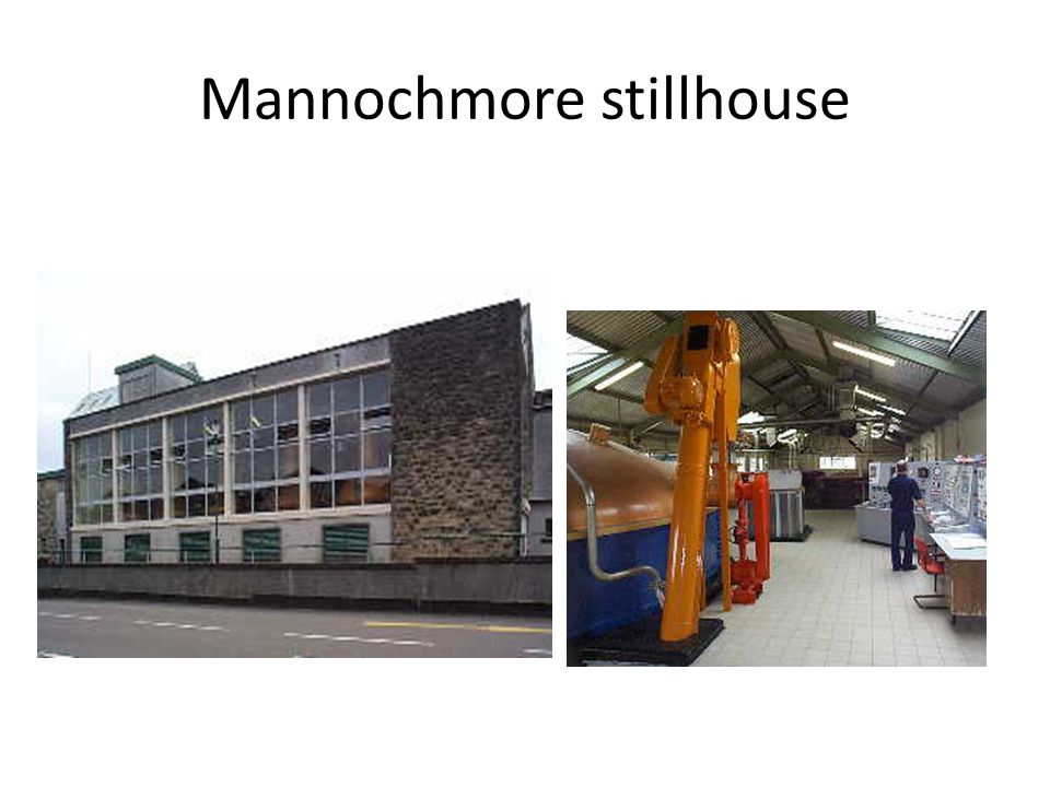 Mannochmore stillhouse