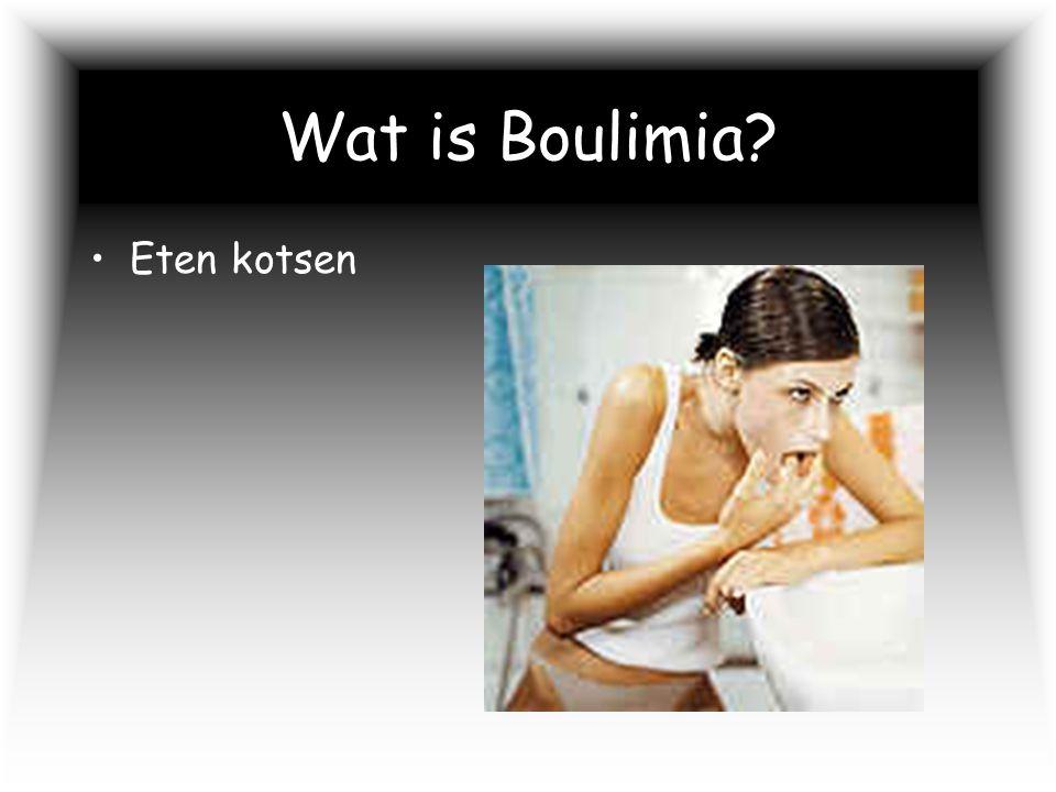 Wat is Boulimia? Eten kotsen