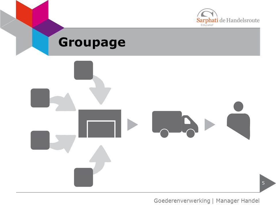 Groupage 5 Goederenverwerking | Manager Handel