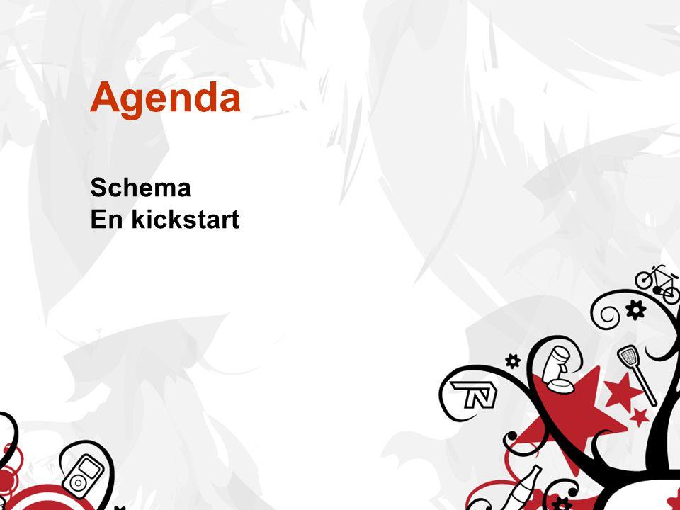 Agenda Schema En kickstart