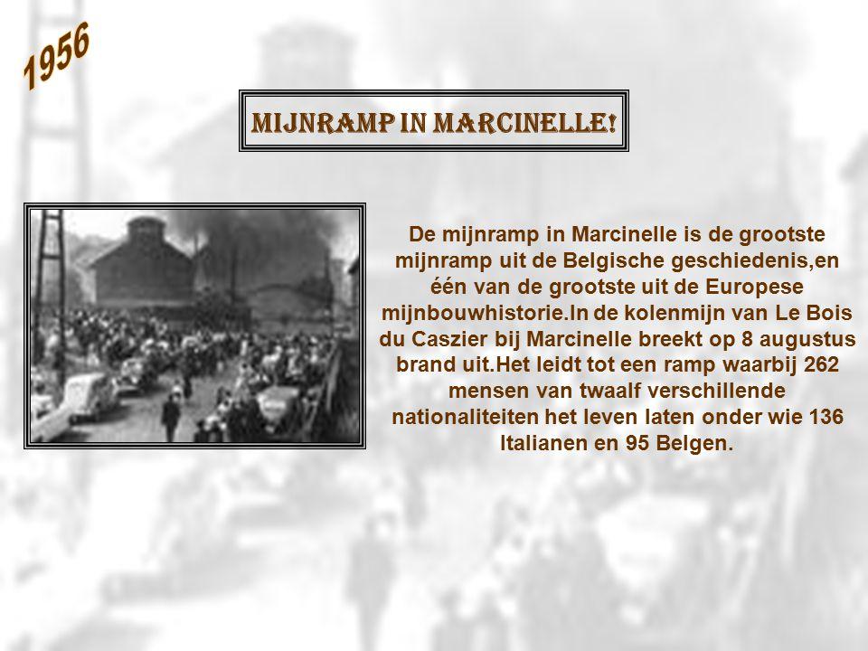 Mijnramp in Marcinelle.
