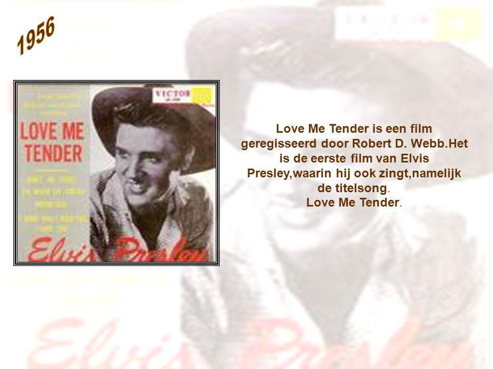 Love Me Tender is een film geregisseerd door Robert D.