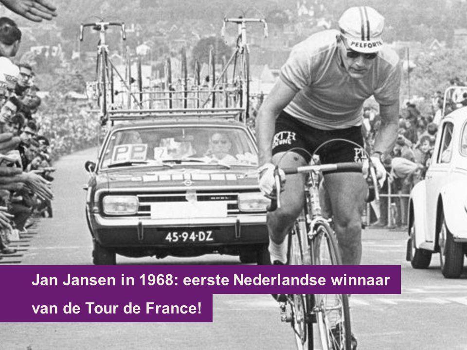 van de Tour de France! Jan Jansen in 1968: eerste Nederlandse winnaar