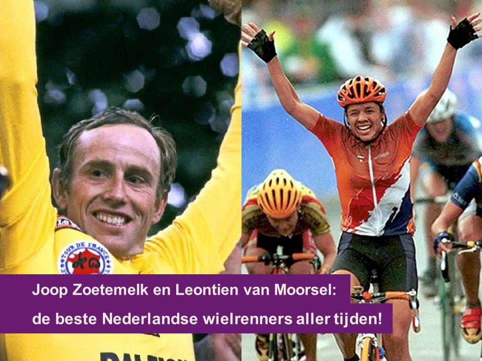 Joop Zoetemelk en Leontien van Moorsel: de beste Nederlandse wielrenners aller tijden!