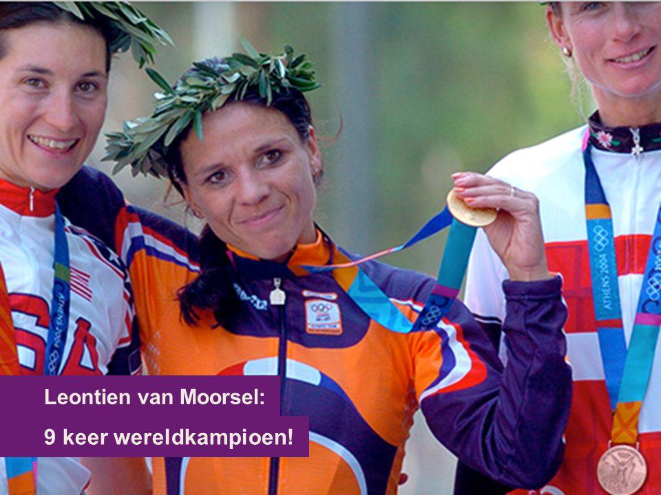 9 keer wereldkampioen! Leontien van Moorsel: