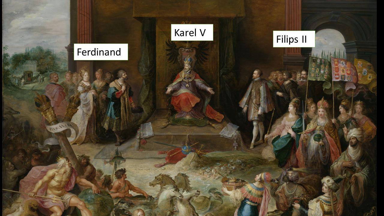Karel V Filips II Ferdinand