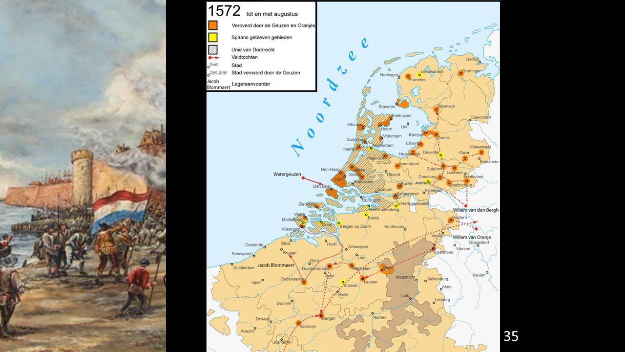 Juli 1572: De opstandelingen roepen de Staten van Holland bij elkaar.
