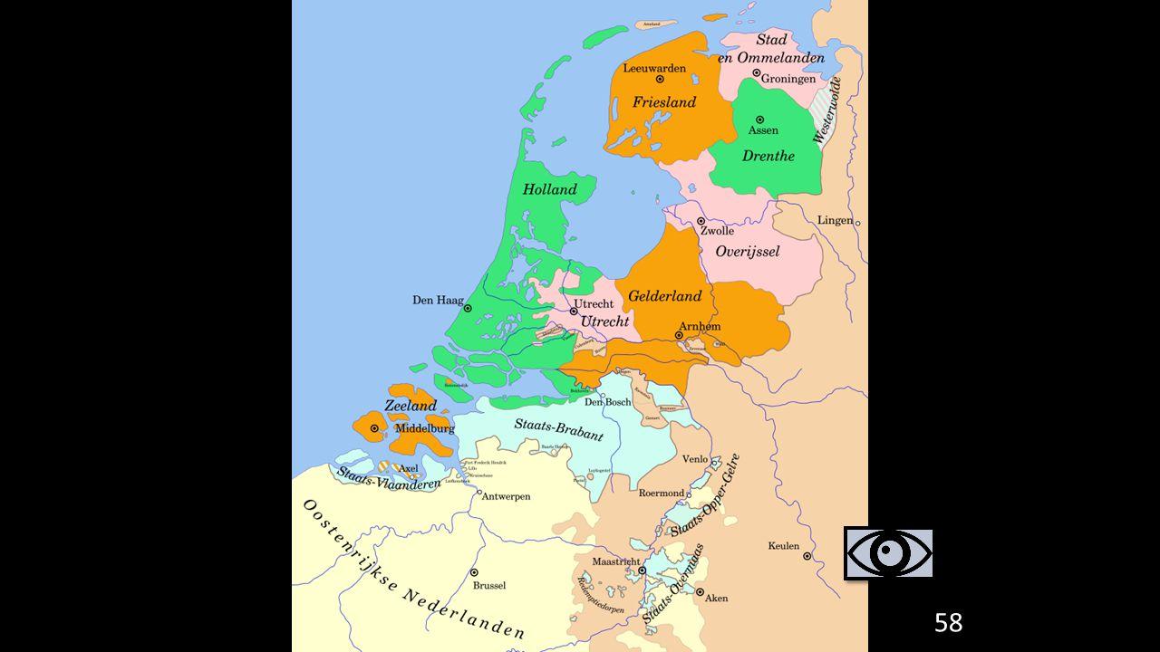 58 3. Gevolgen van de Tachtigjarige Oorlog