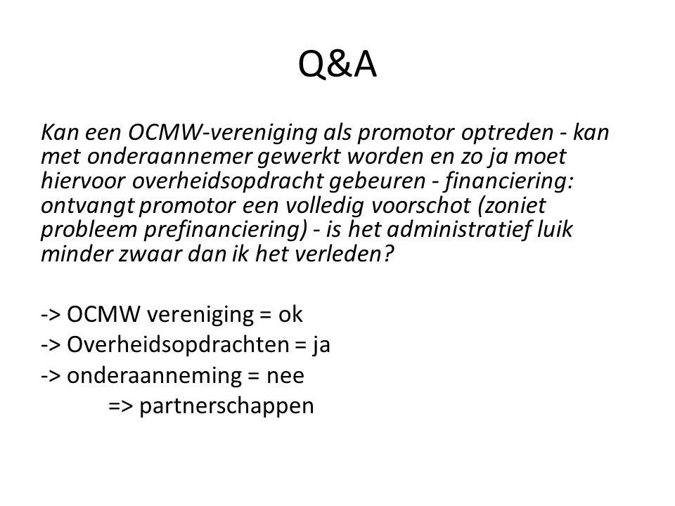Q&A Verschijnt deze oproep ook volgend jaar.