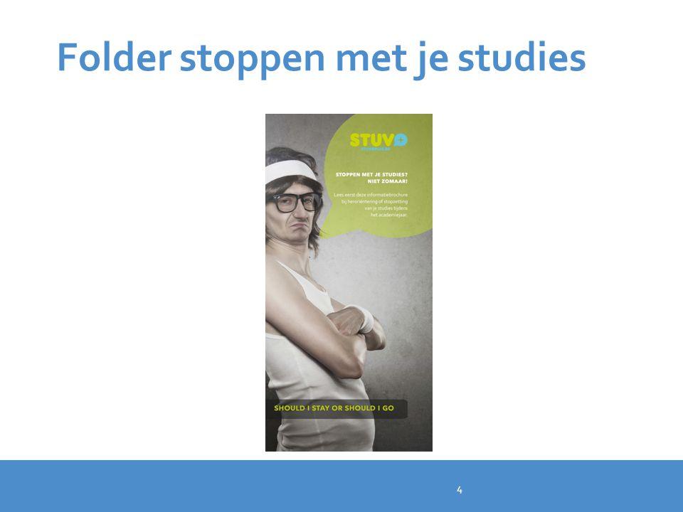 Folder stoppen met je studies 4
