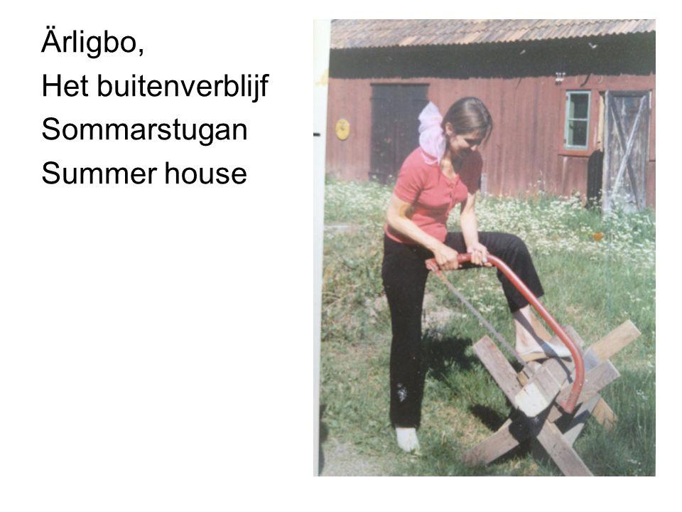 Ärligbo, Het buitenverblijf Sommarstugan Summer house