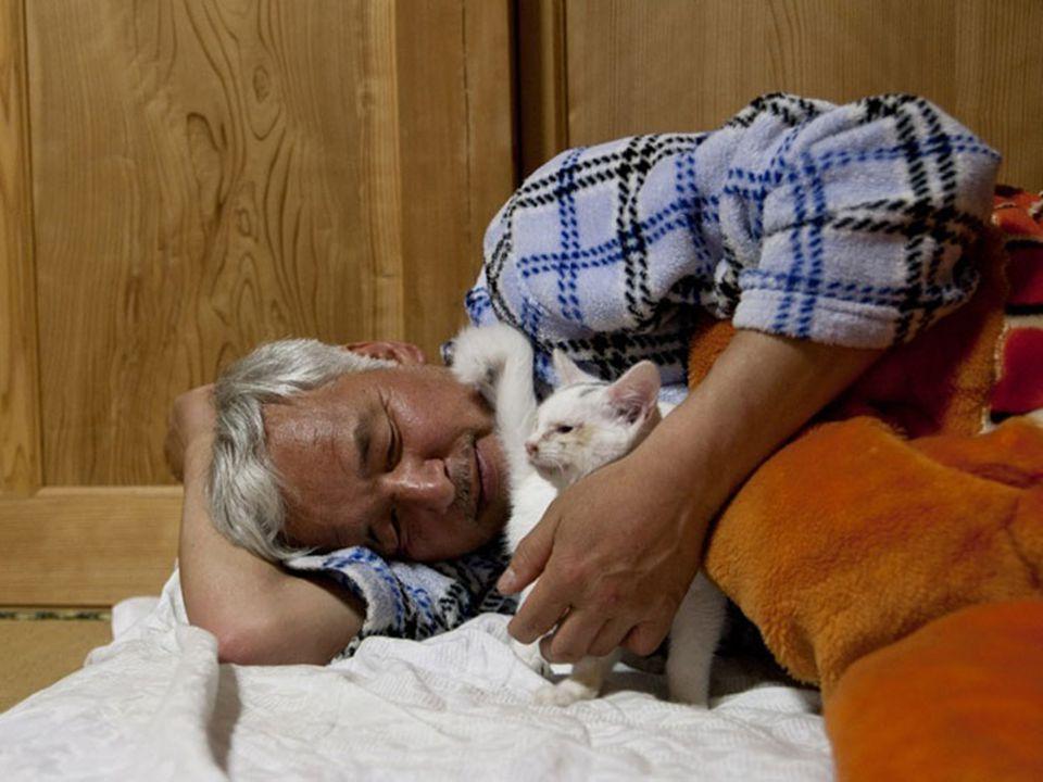 De dankbaarheid straalt van de dieren af
