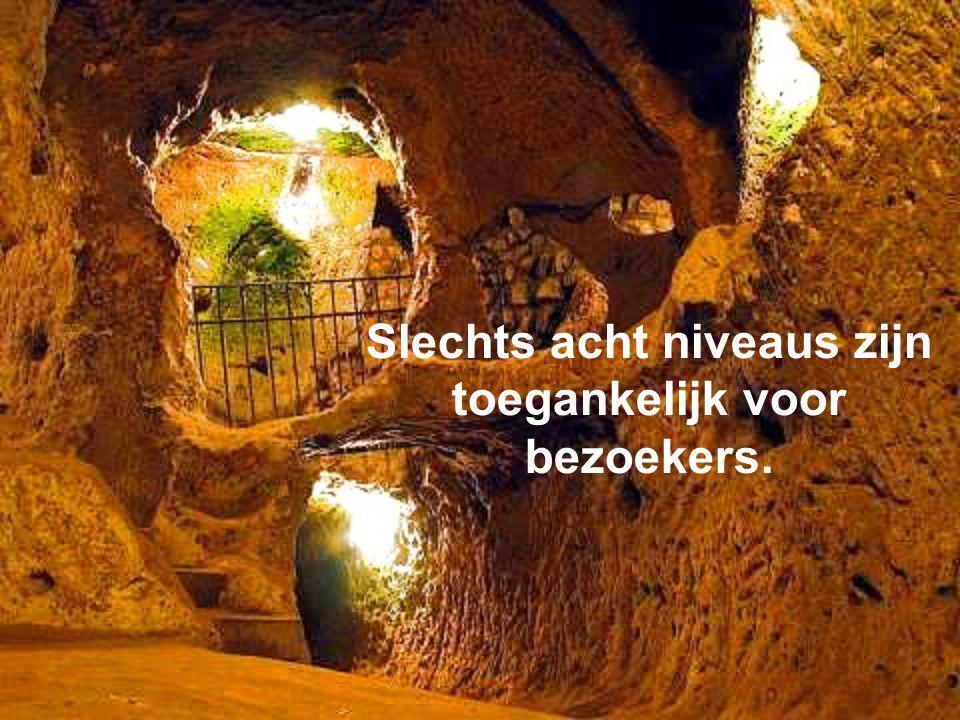 Derinkuyu heeft een tunnel van bijna 8 km lengte.