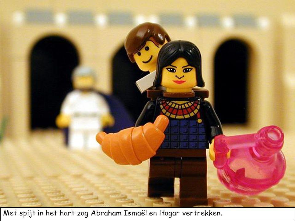 Met spijt in het hart zag Abraham Ismaël en Hagar vertrekken.