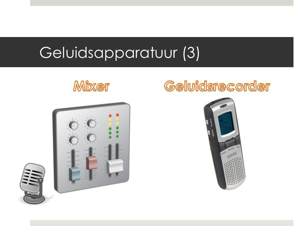 Geluidsapparatuur (3)