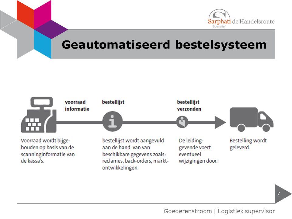 Vendor Managed Inventory 8 Goederenstroom | Logistiek supervisor