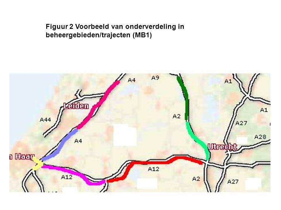 Figuur 3 Onderscheid 'wegkantconfiguratie' naar functionele delen 'inwinnen', 'verwerken' en 'presenteren' (MB2)