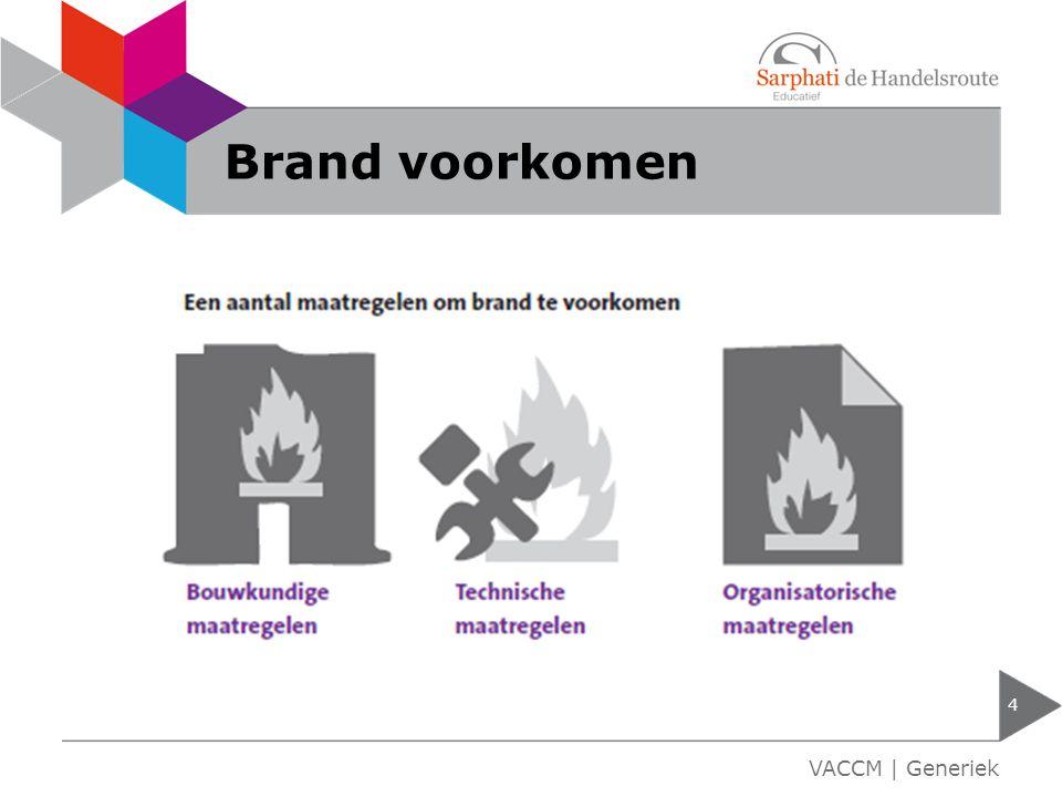 Brand voorkomen 4 VACCM | Generiek