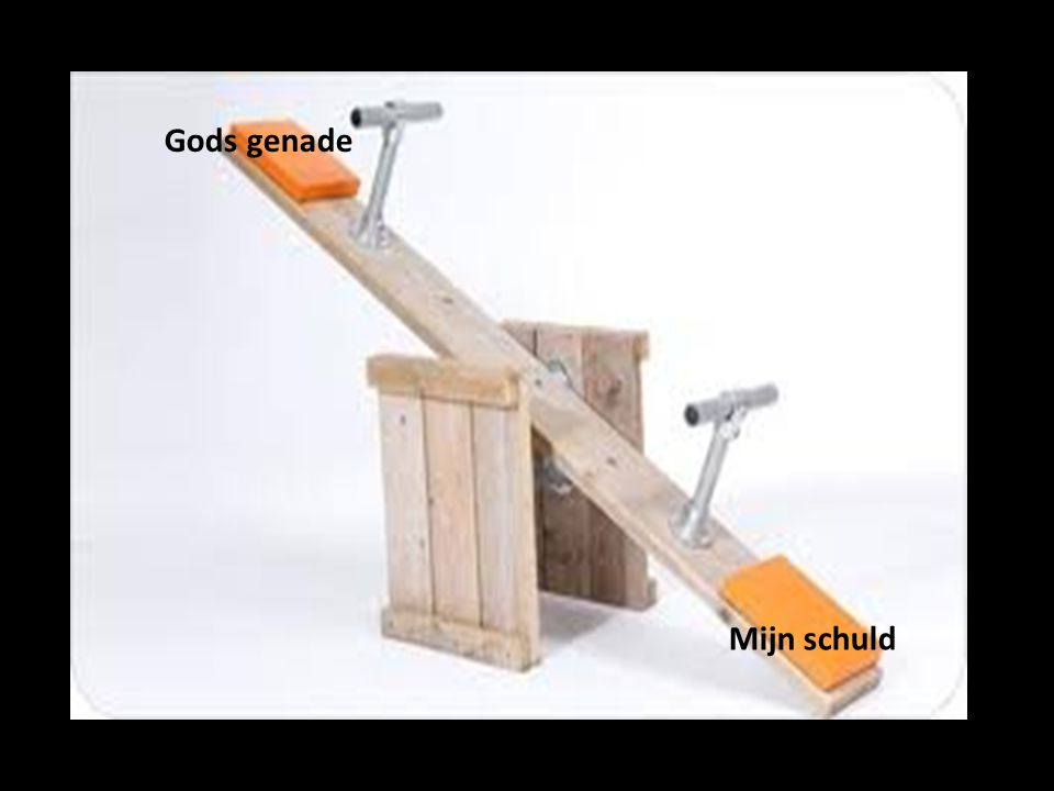 Gods genade Mijn schuld Gods genade Mijn schuld