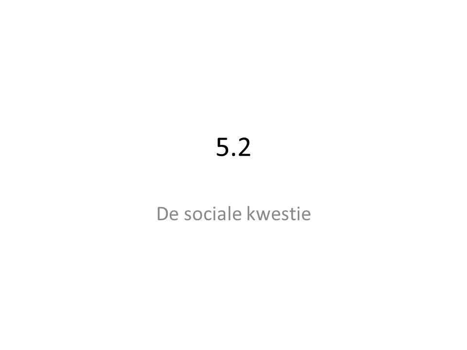 5.2 De sociale kwestie