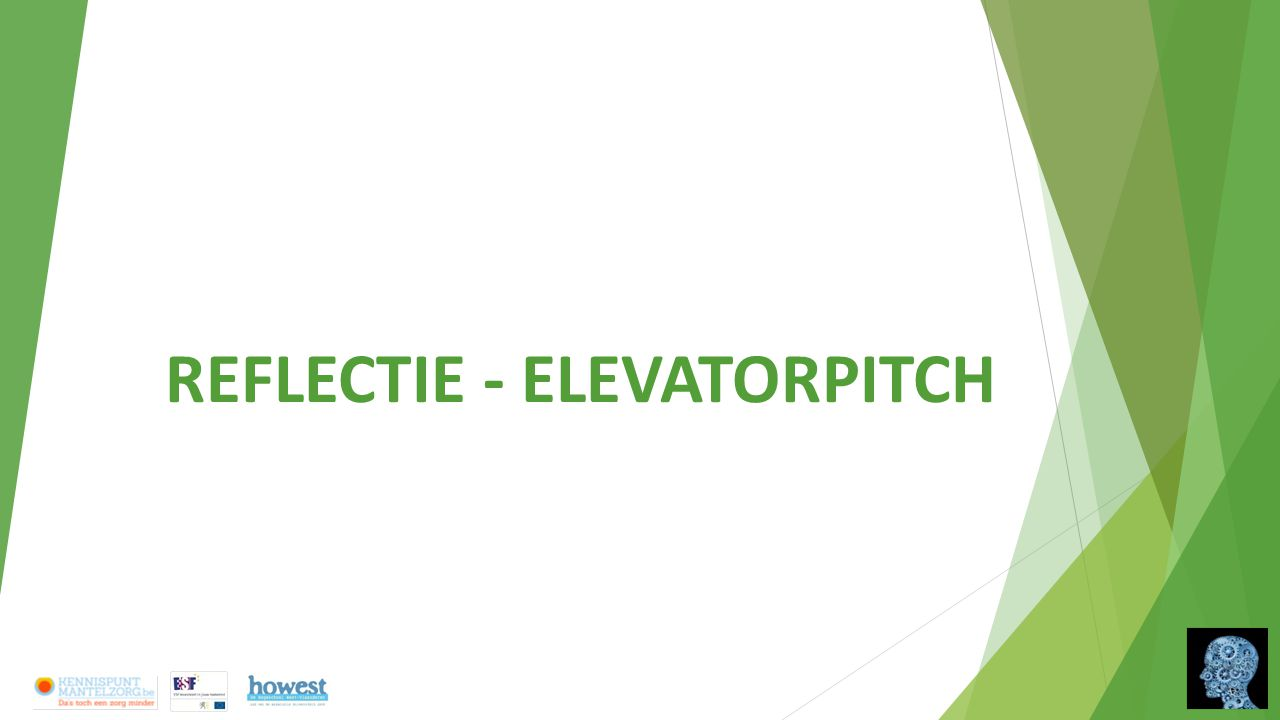 REFLECTIE - ELEVATORPITCH