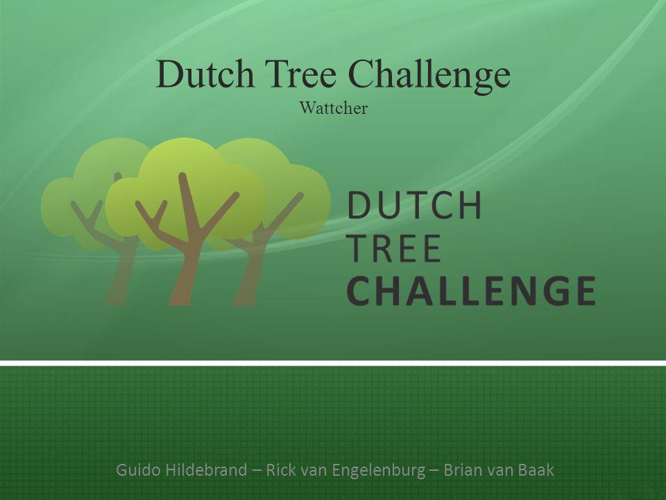Dutch Tree Challenge Wattcher Guido Hildebrand – Rick van Engelenburg – Brian van Baak