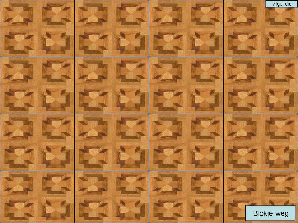 Instructie: 1.De maker plaatst foto's achter de blokken van elke dia.