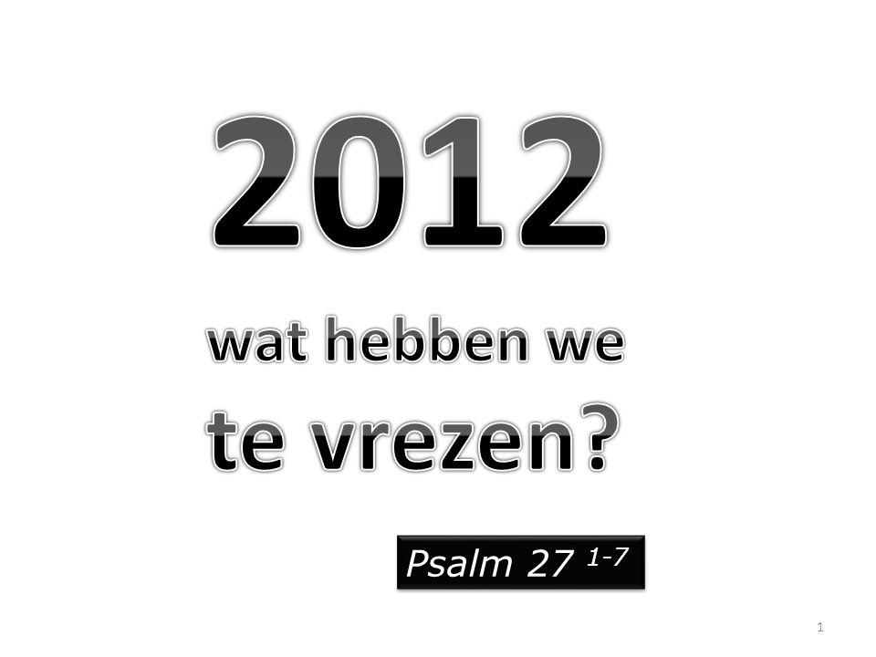 Psalm 27 1-7 1