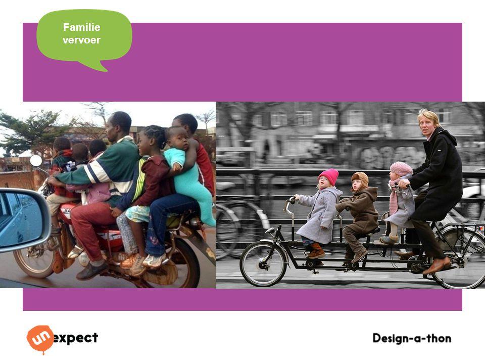 Design-a-Thon 16 Oktober 2014 Familie vervoer