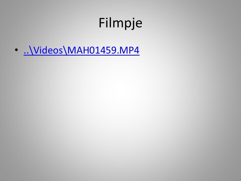 Filmpje..\Videos\MAH01459.MP4