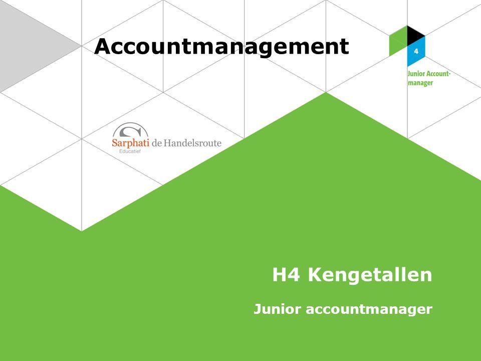 2 Accountmanagement   Junior Accountmanager Gemiddelde voorraad