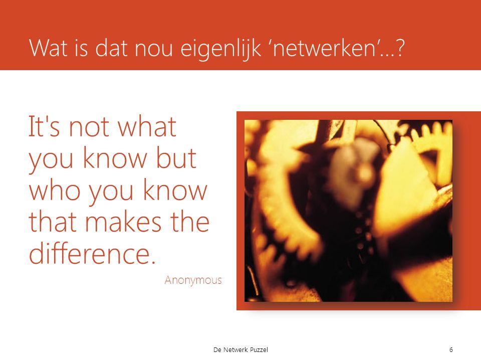 Netwerk-en….net·werk (het ~) 1.