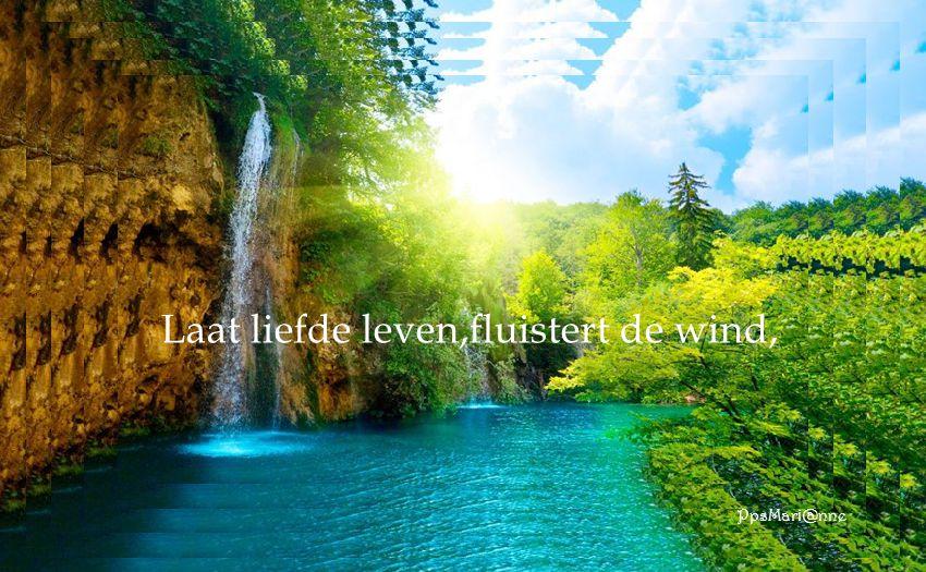 Voel de geest,die meer is dan macht.