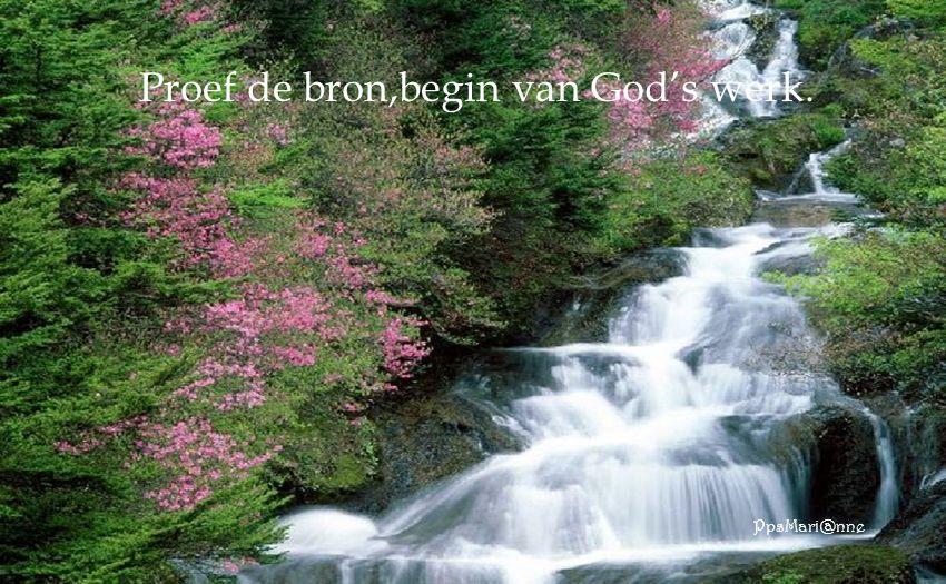 Voel 't water,verfrist en maakt sterk,