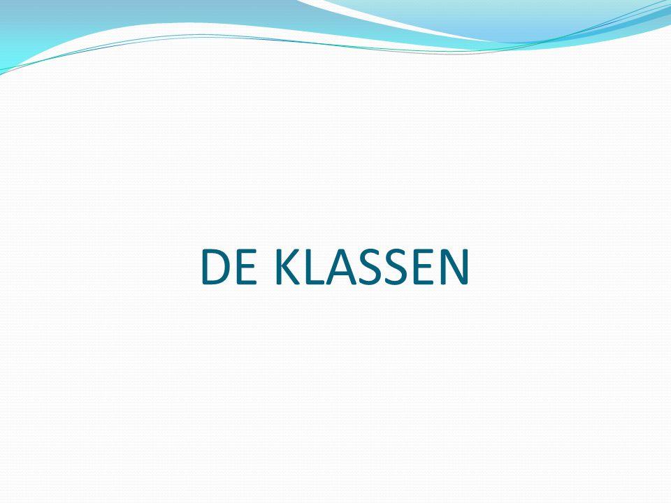 DE KLASSEN