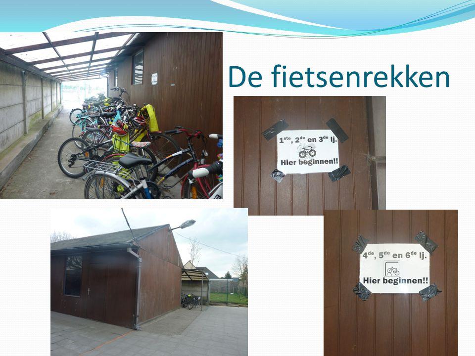 De fietsenrekken