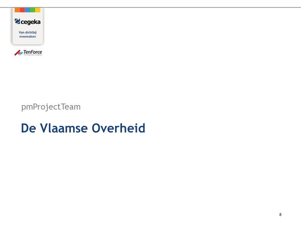 pmProjectTeam 8 De Vlaamse Overheid
