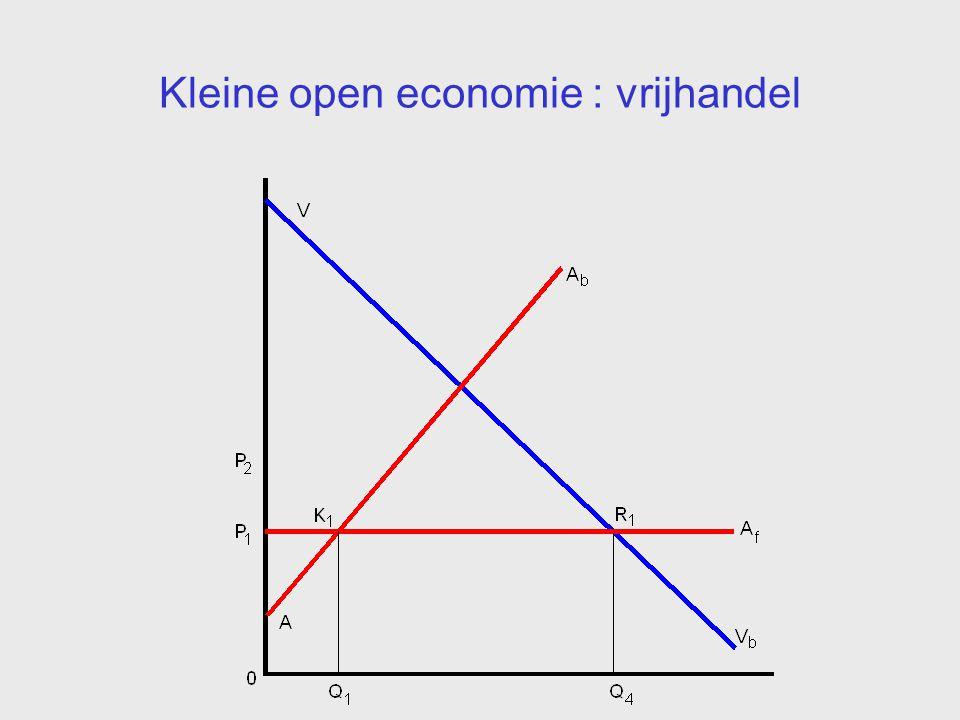 Kleine open economie : invoerrechten