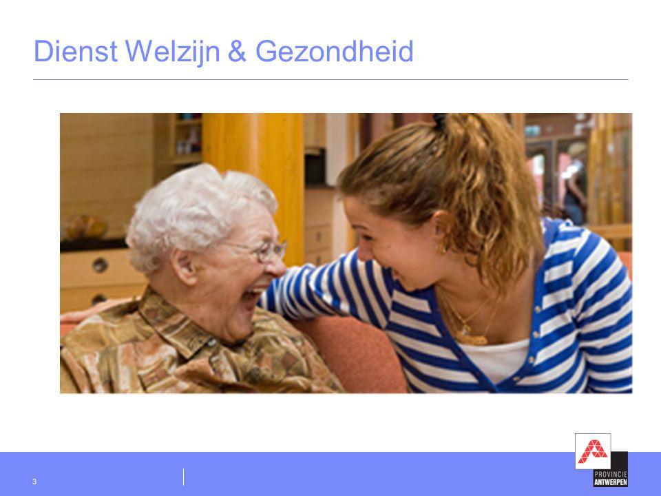 Dienst Welzijn & Gezondheid 3