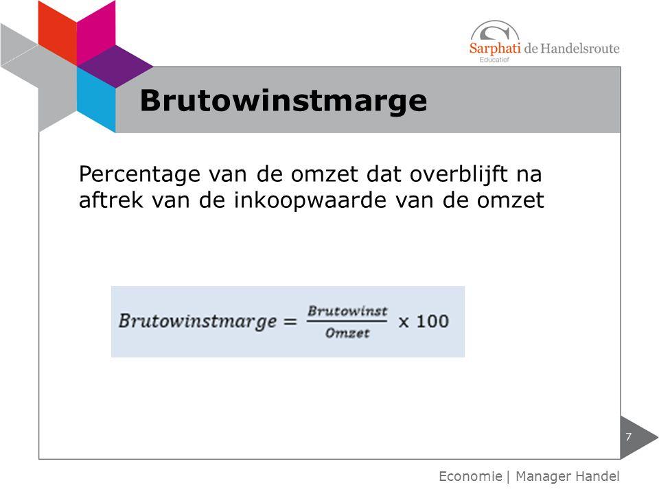 Alle bedrijfskosten zoals: Huisvesting Vervoer Personeel reclame 8 Exploitatiekosten Economie | Manager Handel