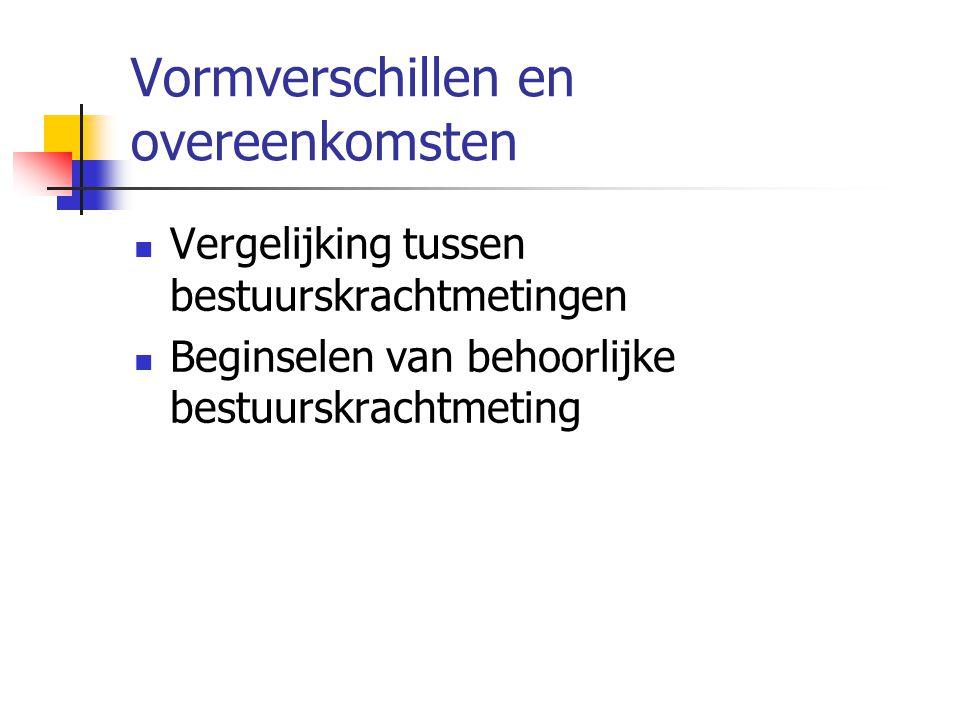 Bestuurskrachtmeting : het beoordelingskader Taken en rollen van gemeenten Kwaliteitsmatrix in 47 Limburgse gemeenten Uitkomsten 1e bestuurskrachtmeting in Limburg