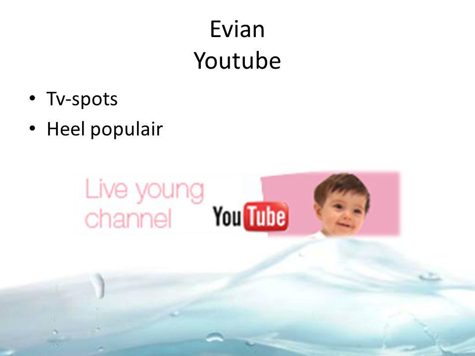 Evian Youtube Tv-spots Heel populair