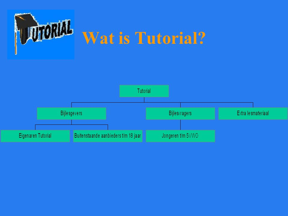 Wat is Tutorial