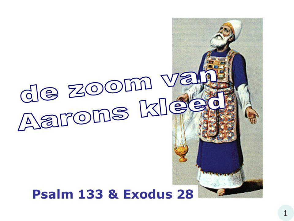 Psalm 133 & Exodus 28 1