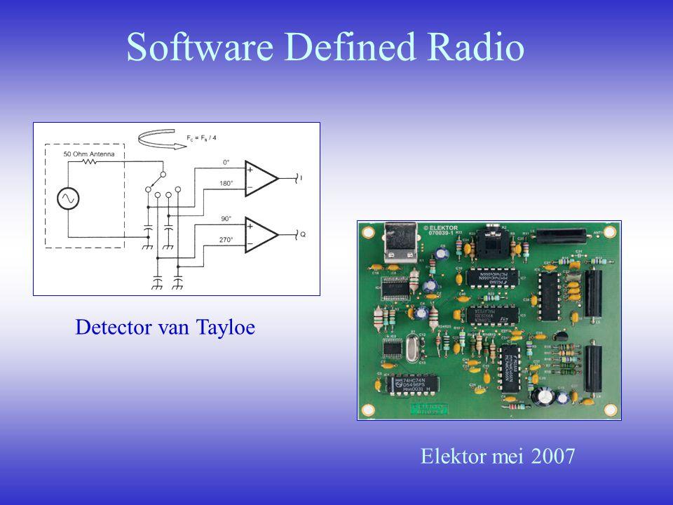 Software Defined Radio Detector van Tayloe Elektor mei 2007
