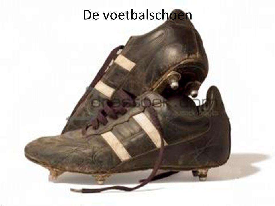 De voetbalschoen