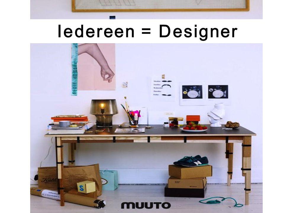 Iedereen = Designer