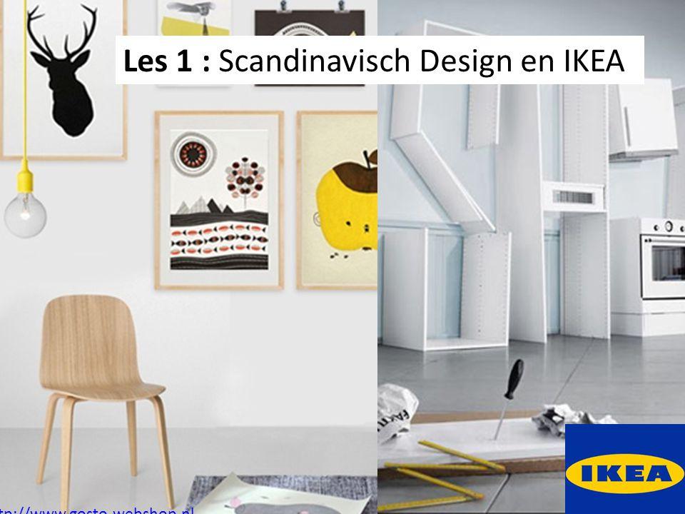 Les 1 : Scandinavisch Design en IKEA http://www.gosto-webshop.nl
