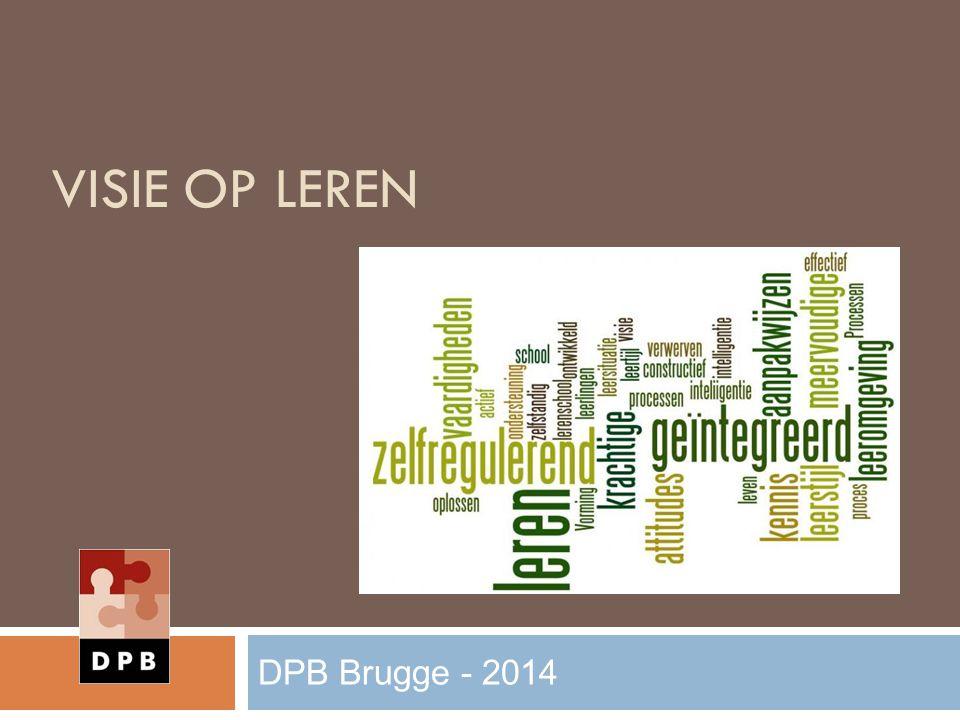 STUDIERICHTINGS PROFIEL DPB Brugge - 2014