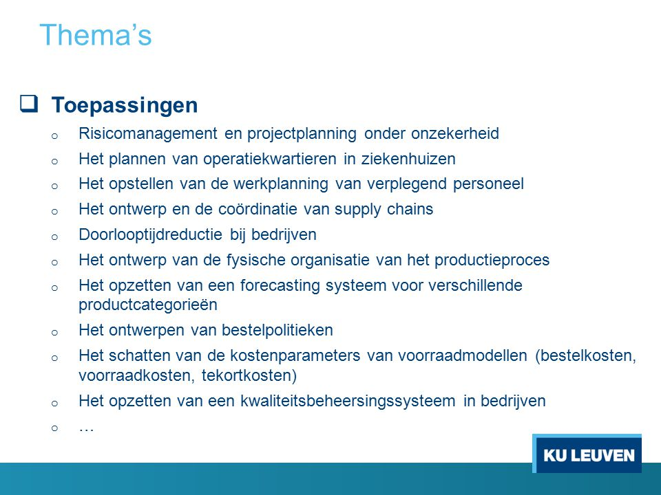 Supply Chain Consultant Supply Chain Analyst Productieplanner Logistiek directeur Supply chain Manager Kwaliteitsmanager Plant manager Andere leidinggevende functies Beroepsuitwegen